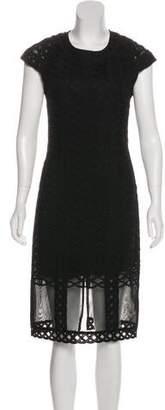 Jonathan Simkhai Shot Sleeve Midi Dress