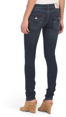 Flap Pocket Skinny Jeans