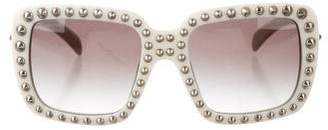 Prada Oversize Studded Sunglasses