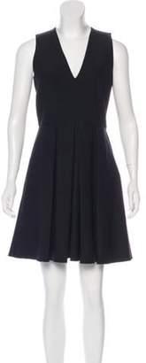 Proenza Schouler Sleeveless A-Line Dress Black Sleeveless A-Line Dress