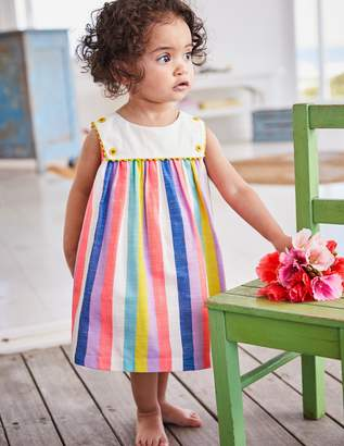 Boden Rainbow Sailor Dress