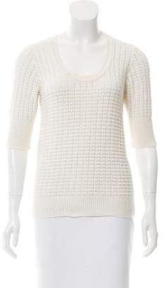 Mayle Knit Short Sleeve Sweater