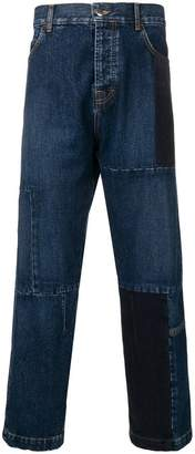 McQ patchwork loose jeans