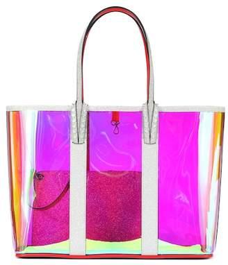 Christian Louboutin Cabata embellished PVC tote
