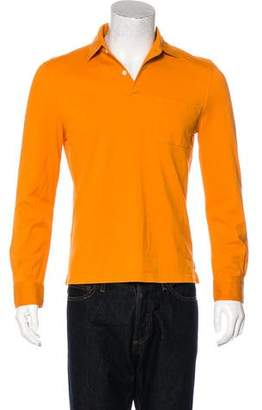 Malo Solid Knitted Polo