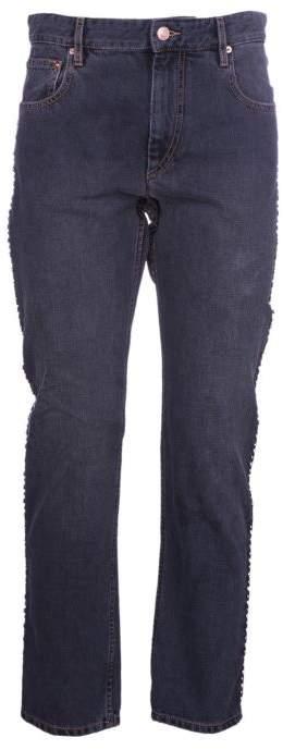 Studded Girlfriend Jeans