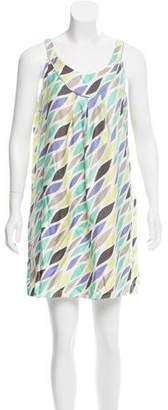 Cynthia Steffe Cynthia Silk Sleeveless Mini Dress