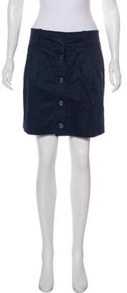 Burberry Mini A-Line Skirt