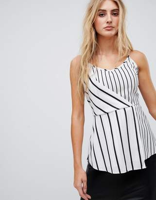 AX Paris Striped cami top