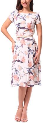 DAY Birger et Mikkelsen Lila Kass Silk-Blend Dress