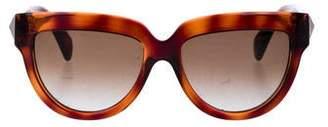 Valentino Acetate Oversize Sunglasses