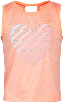 Ideology Toddler Girls Heart-Print Tank, Created for Macy's