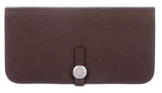 Hermes Togo Dogon Long Wallet