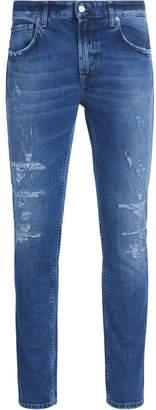 Department 5 Skeith Blue Medium Washed Denim Jeans