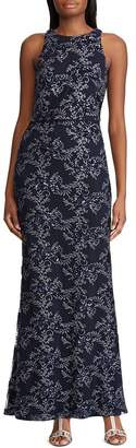Ralph Lauren Sequined Tulle Gown
