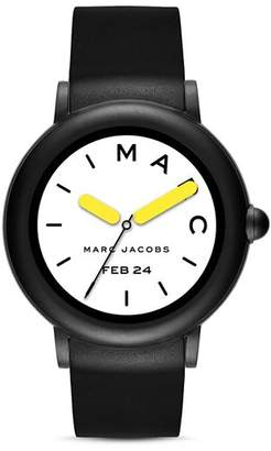 Marc Jacobs Riley Black Strap Touchscreen Watch, 44mm