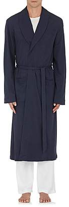 Hanro Men's Cotton Long Robe