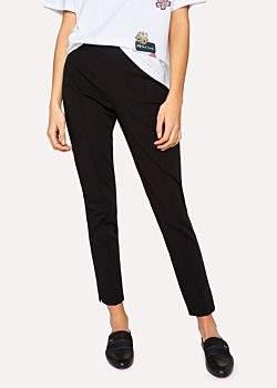 Paul Smith Women's Black Super-Stretch Skinny-Fit Trousers