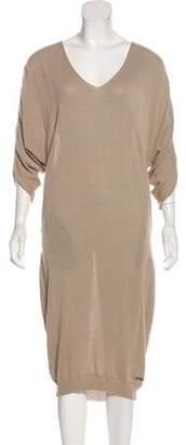 CNC Costume National Midi Sweater Dress