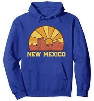 Retro New Mexico Sun Vintage Graphic Hoodie