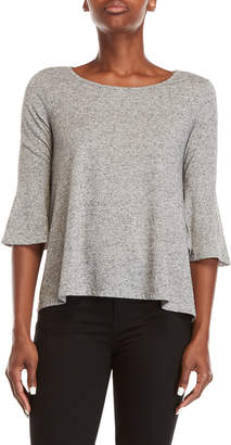 Jack Heather Grey Bell Sleeve Tee