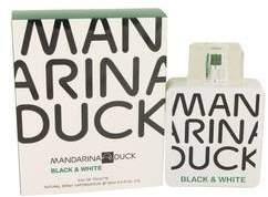 Mandarina Duck Black & White Eau De Toilette Spray By