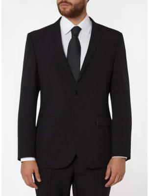 George Black Slim Fit Suit Jacket