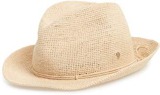 Helen Kaminski Raffia Crochet Packable Sun Hat