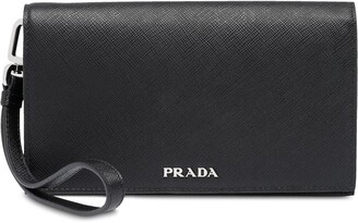 Prada Saffiano leather smartphone case