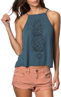 Women's O'Neill Pineapple Daze Tank $22 thestylecure.com