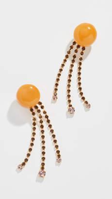 Marni Chandelier Strass Earrings