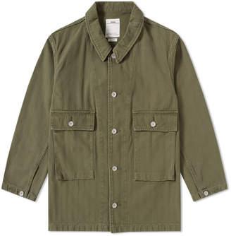 Visvim Fuller Coverall Shirt