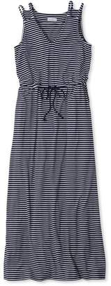 L.L. Bean L.L.Bean Signature Knit Maxi Dress, Stripe