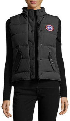 Canada Goose Freestyle Puffer Vest $350 thestylecure.com