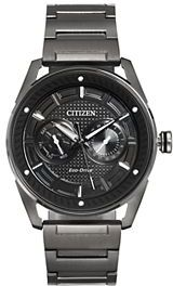 Drive From Citizen Eco-Drive Men's CTO Stainless Steel Watch - BU4025-59E