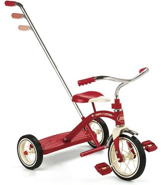 RADIO FLYER Classic Red Tricycle with Push Handle $199.20 thestylecure.com