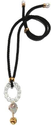 Lizzie Fortunato Malta Knot Pendant Necklace