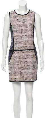Theory Tweed Paneled Dress w/ Tags