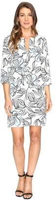 Karen Kane Floral Shift Dress Women's Dress