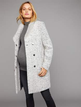A Pea in the Pod Boucle Maternity Jacket