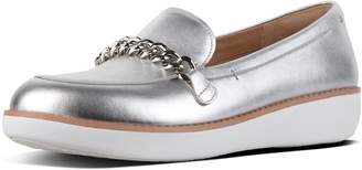 FitFlop Petrina Metallic Leather Loafers