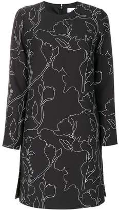Carven embroidered shift dress