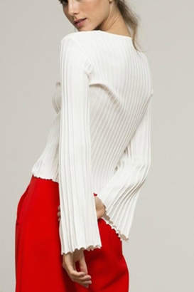 Lucy Paris Flare Sleeve Sweater