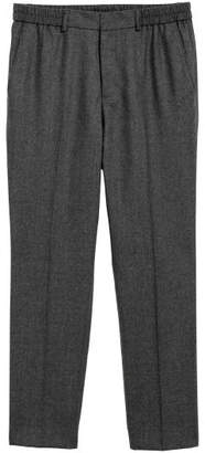 H&M Elasticized Wool Pants - Gray