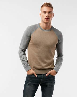 Express Reversible Crew Neck Sweater