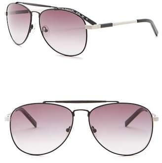 Elie Tahari 60mm Aviator Sunglasses