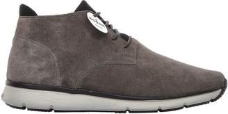 Hogan New Urban Style Lace-up Grey Suede