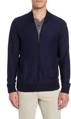 Bonobos Cotton & Cashmere Bomber Sweater