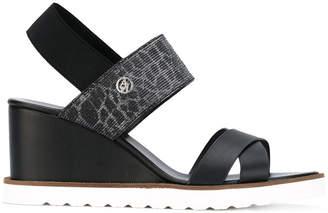 Armani Jeans wedge sandals