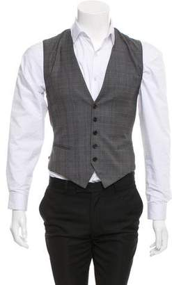 Christian Dior Super 130'S Wool Suit Vest